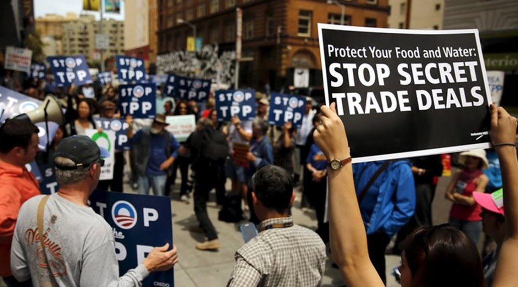 This Week on I Spy Radio - The Trans Pacific Partnership is a horrible deal. Which presidential candidates are secretly for it.