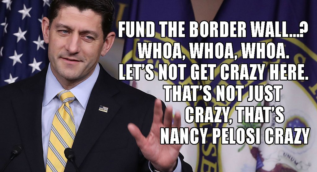 Paul Ryan on funding the border wall