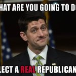 Paul Ryan dares you to elect a real Republican