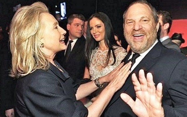 Hillary Clinton, Harvey Weinstein, Hollywood scandals,