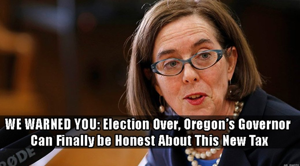 We warned you about Oregon's carbon tax