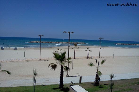 Пляж в Герцелии фото
