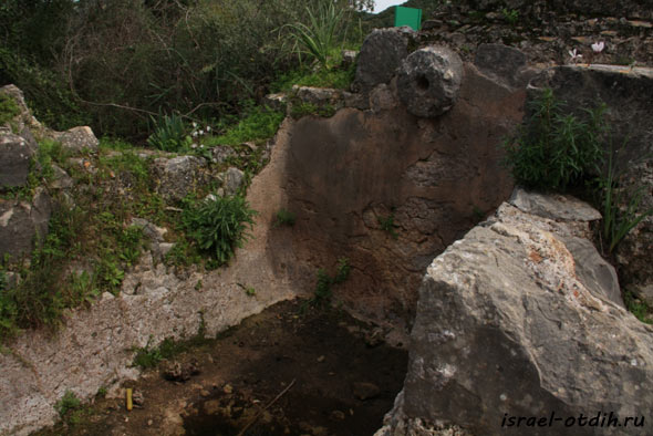 Крепость в Израиле фото