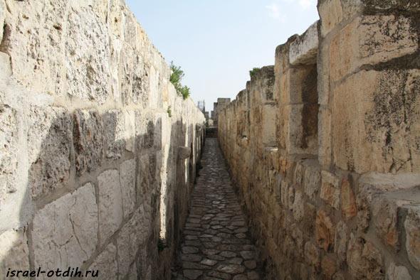 прогулка в стенах Иерусалима