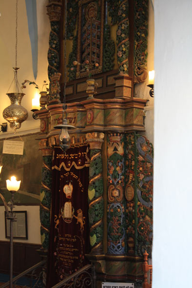 фото синагоги в Цфате