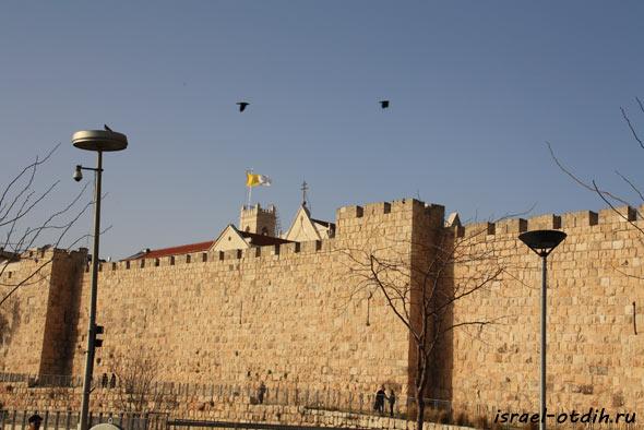 старый город Иерусалим фотография