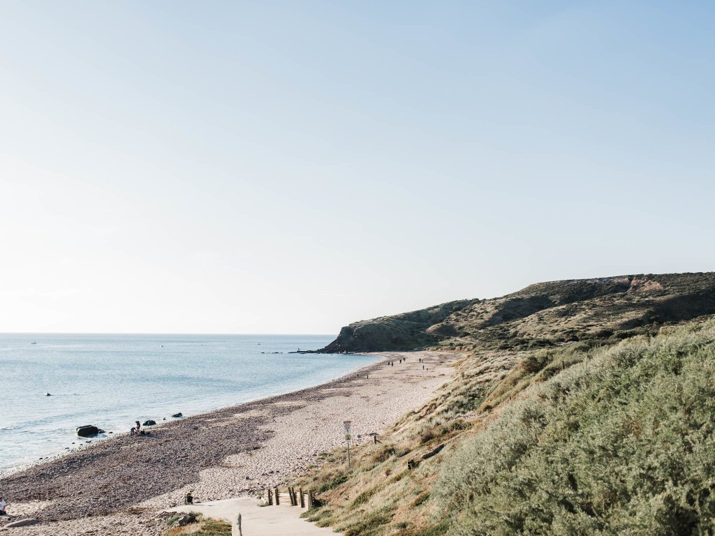 Hallet Cove Beach Engagement Session