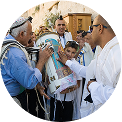 Carry the Torah for your Bat Mitzvah or Bar Mitzvah in Israel