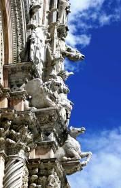 Catedral de Siena: detalle de la fachada