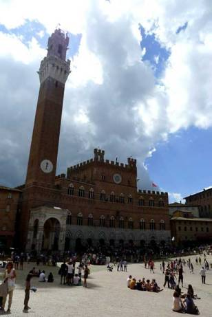 Siena: Plaza o Piazza del Campo