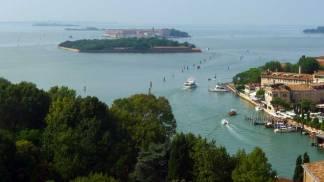 Venecia: vistas desde el campanile de San Giorgio