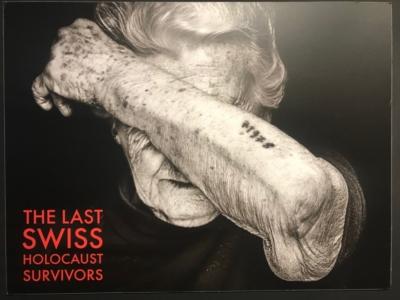 La photo de Nina Weil, une survivante de la Shoah, figure en tête de l'exposition (photo : KHC)
