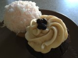 Coconut and Coffee cupcakes