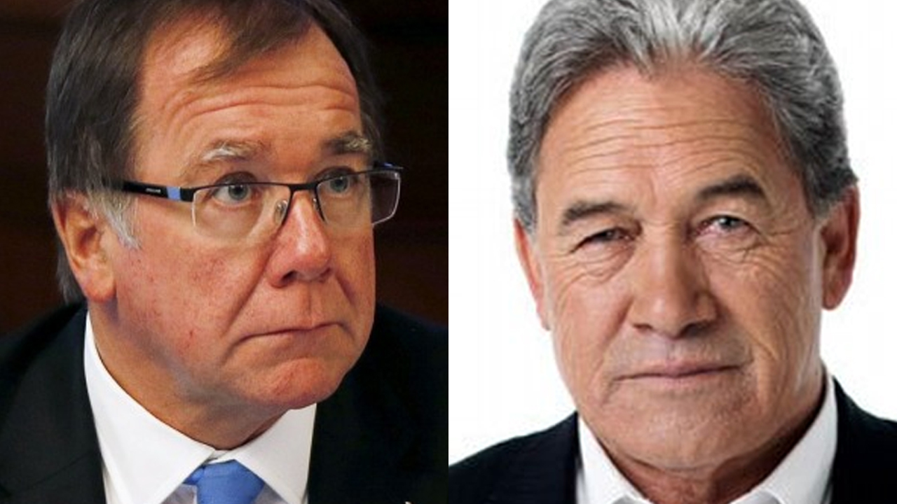Peters Slams McCully Over UN Resolution 2334