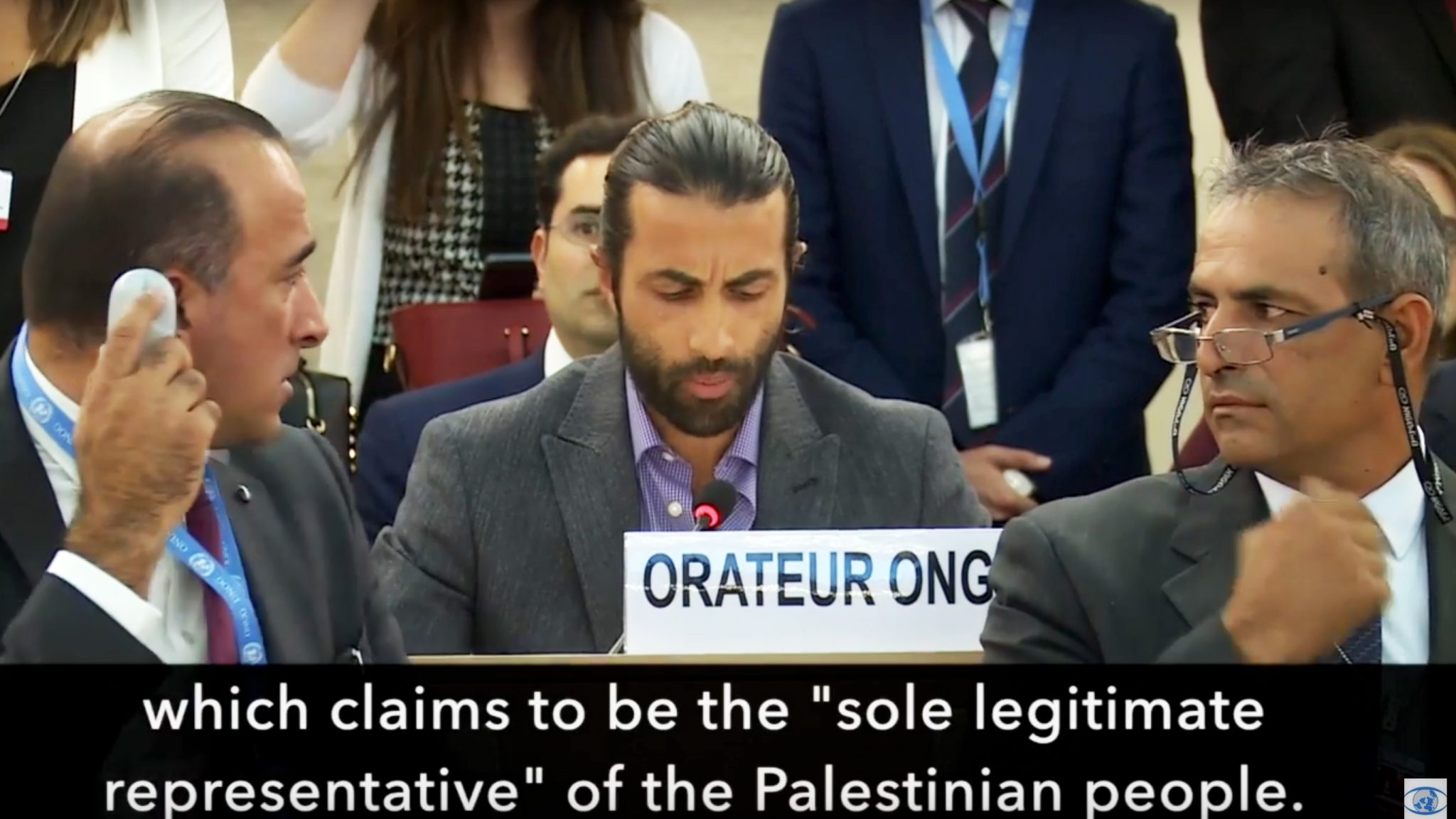 Palestinian exposes lies at UN