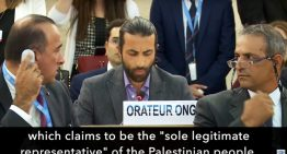 Palestinian exposes lies at UN