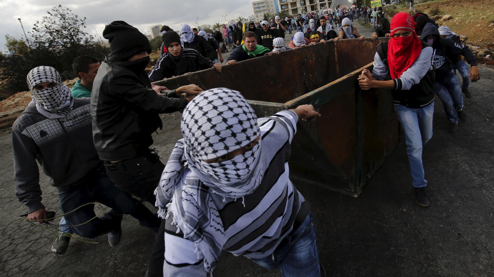 Violent Palestinians