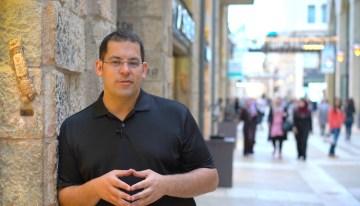 Four spots in Jerusalem
