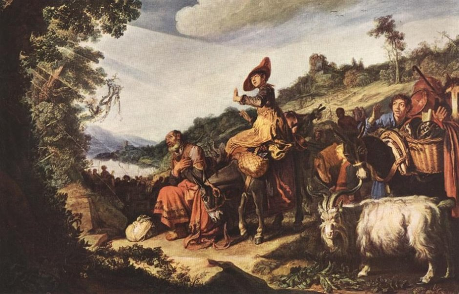 Abraham on the Way to Canaan. Pieter Lastman (1614)
