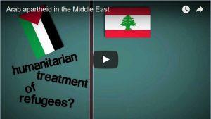 Arab apartheid in the Middle East