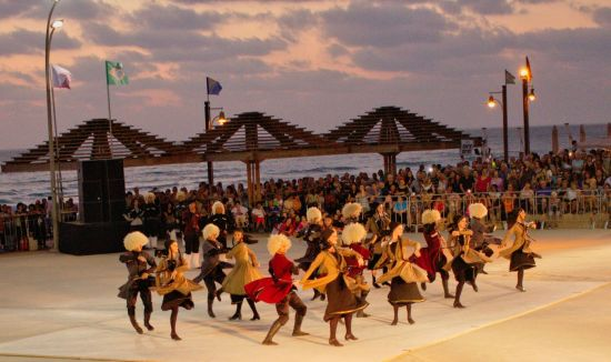 International Folklore Festival, July 7, 2015, Dado Beach, Hof HaCarmel, Haifa