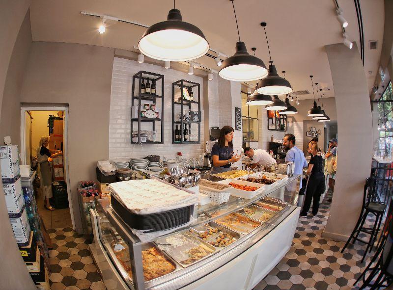 Italian deli in Tel Aviv