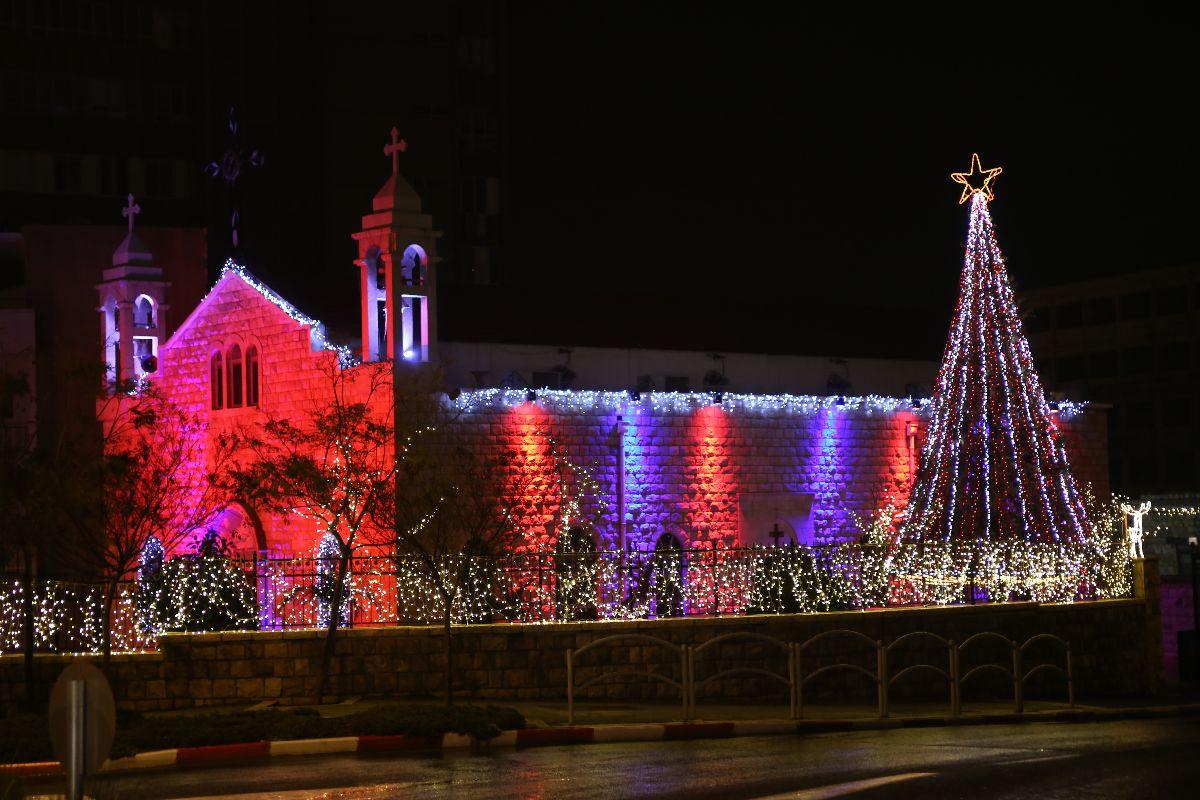 Christmas in Haifa