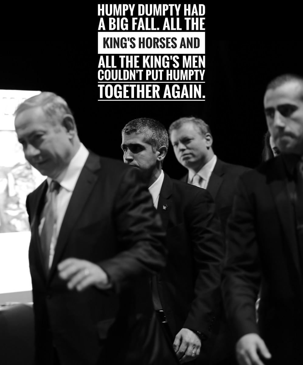 Meme: A corruption investigation could bring down Israeli Prime Minister Benjamin Netanyahu