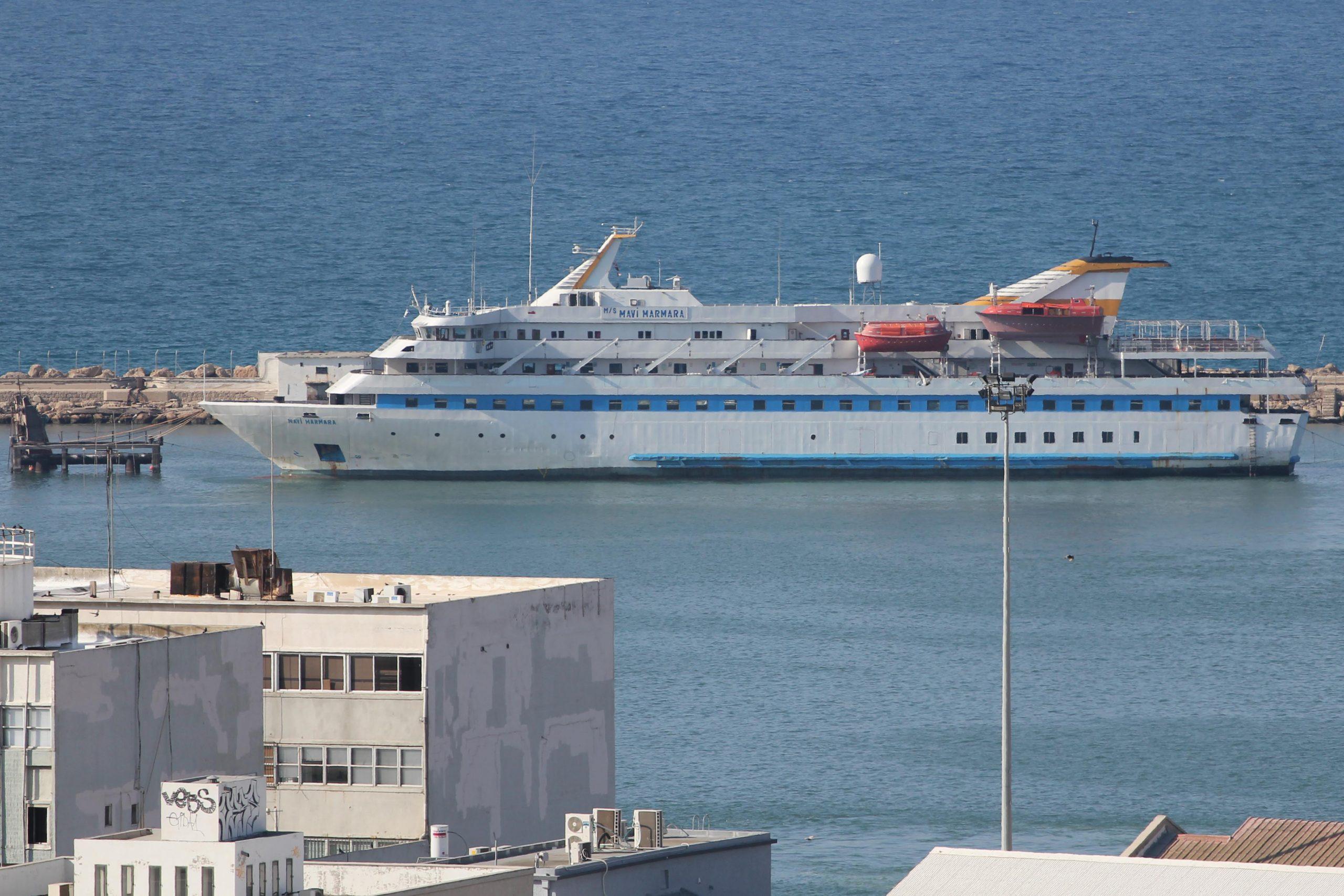 Mavi Marmara impounded in Haifa Port