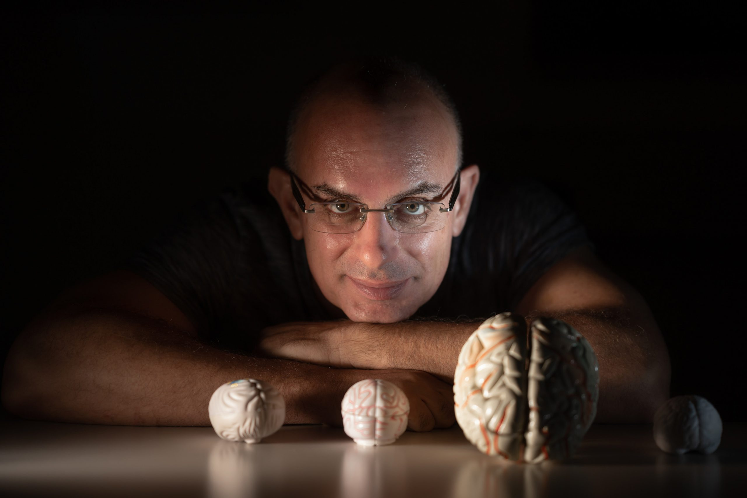 Dr. Oren Shriki, the Department of Cognitive and Brain Sciences at Ben-Gurion University (Credit: Dani Machlis)