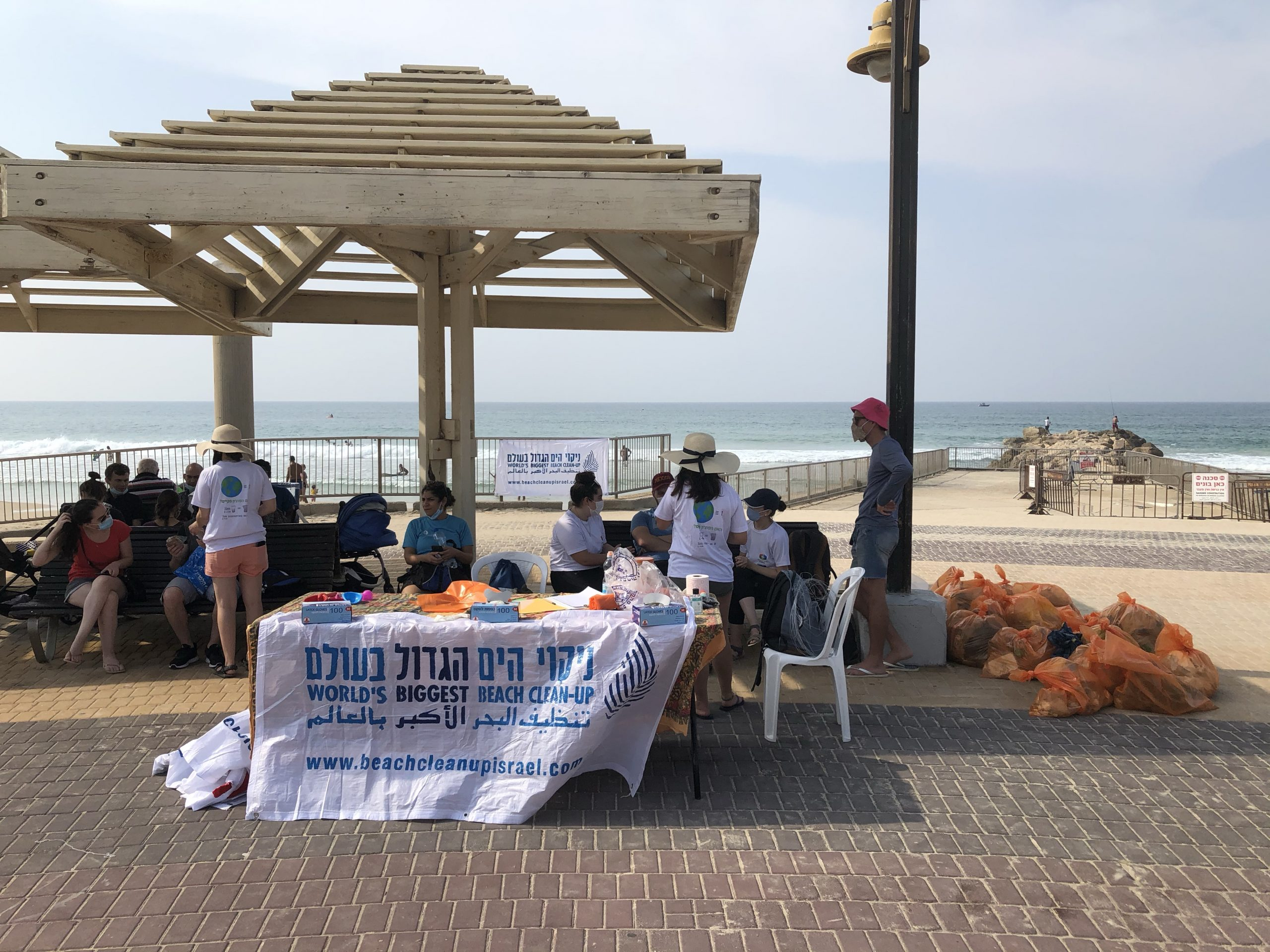 World's Biggest Beach Clean-up In Israel