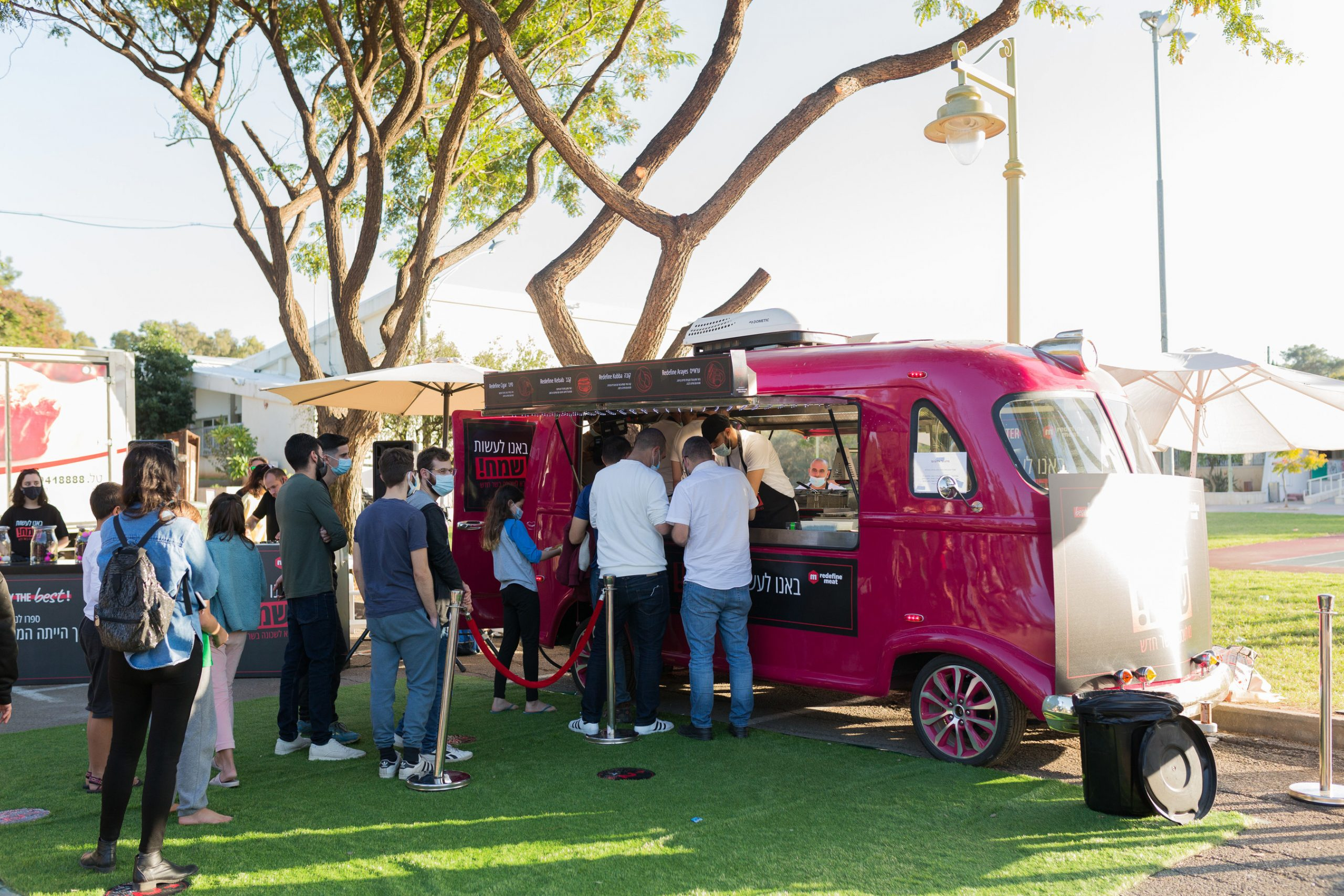 Redefine Meat and Best Meister's food truck served over 600 customers with Alt-Meat in less than five hours