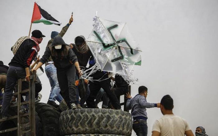 Cometas flameantes de Gaza incendiaron campo de trigo en Israel