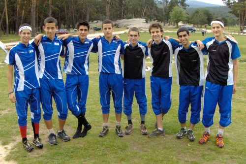 Israel Orienteering Team at EYOC 2010