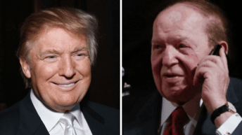 How Sheldon Adelson's bet on Trump made him 2016 election's biggest winner