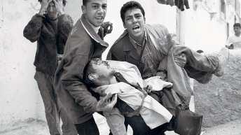 Israeli sniper shot photographer Tom Hurndall in the head fourteen years ago