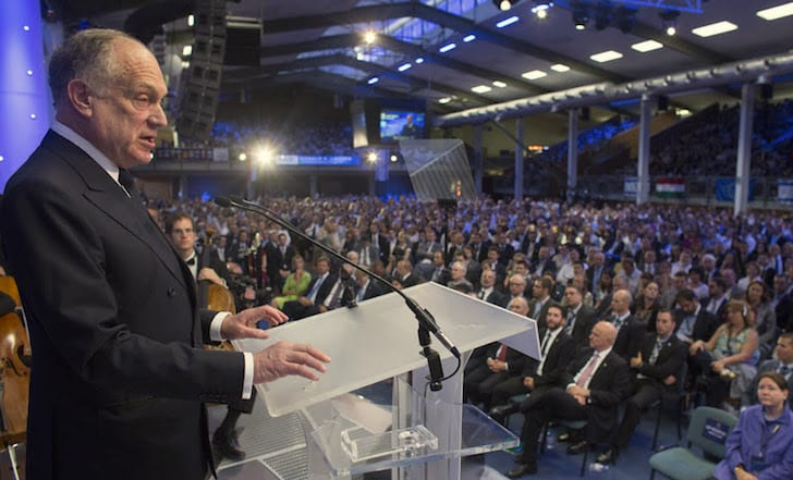 "The World Jewish Congress convention 2014, chaired by David de Rothschild, urged ""all countries to adopt a binding definition of anti-Semitic crimes"" based on the Israel-centric definition."