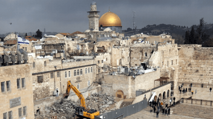 How Israel Weaponizes Archeology