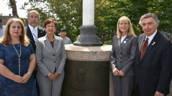 American Zionist Movement celebrates 120 year anniversary at Herzl Memorial in Queens, NY