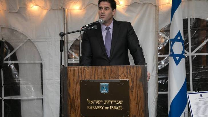Israeli ambassador pushes potential war to elite U.S. powerbrokers