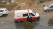 VIDEO: Israeli forces detain 2 Palestinian teenage girls at gunpoint from ambulance
