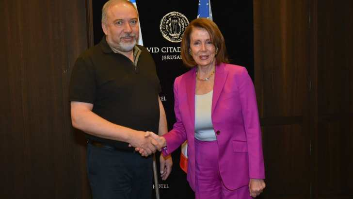 """Pelosi: """"There is no greater political accomplishment in the 20th Century than the establishment of the State of Israel"""""""