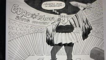 German cartoonist sacked after Netanyahu drawing