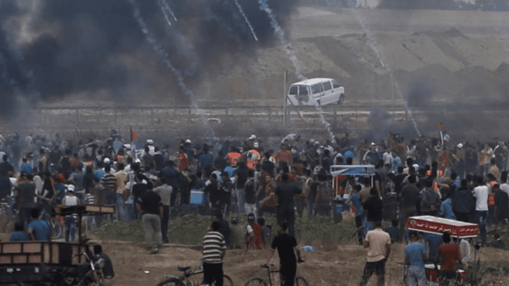 "Palestinian killed, 167 wounded in final ""March of Return"" Gaza protest"