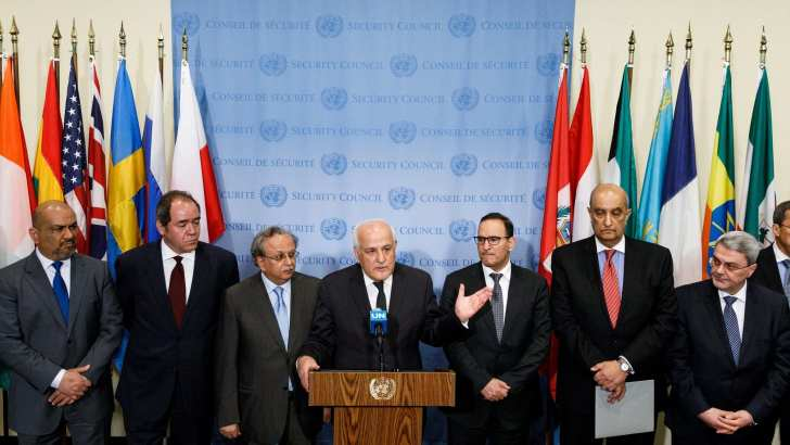 In first, 'Palestine' to head bloc of 134 nations at UN