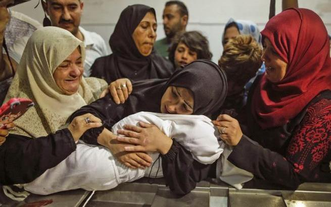 Crimes against Humanity: Israeli Snipers have shot down 45 Child Gaza Protesters