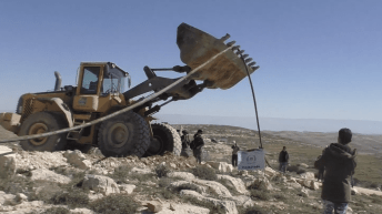 "Israel says ""No"" to clean running water for Palestinian villages"