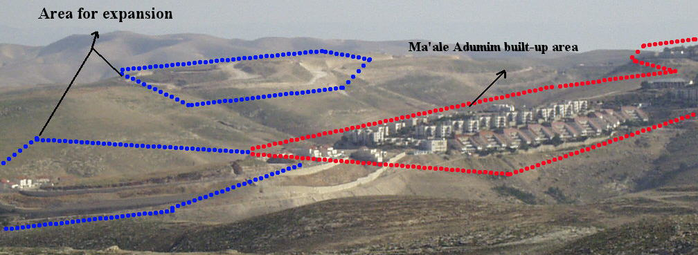 Expansion of Maaleh Adumim Settlement (E1)