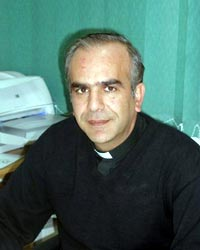 Jamal Khadr, a priest at the Latin Patriarchate of Jerusalem