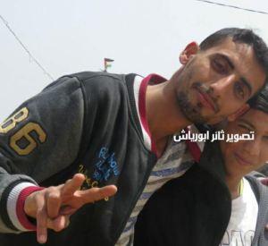 Ahmad Aqel - Photo by Tha'er Abu Rayyash